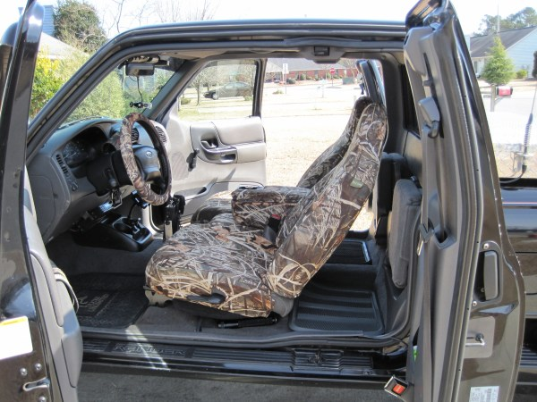 Ford Ranger Camo Seat Covers