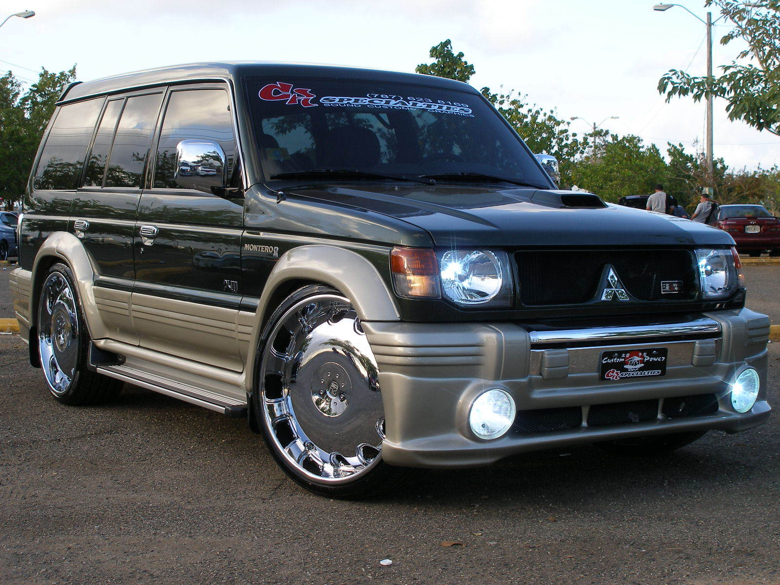 hight resolution of 1996 mitsubishi montero
