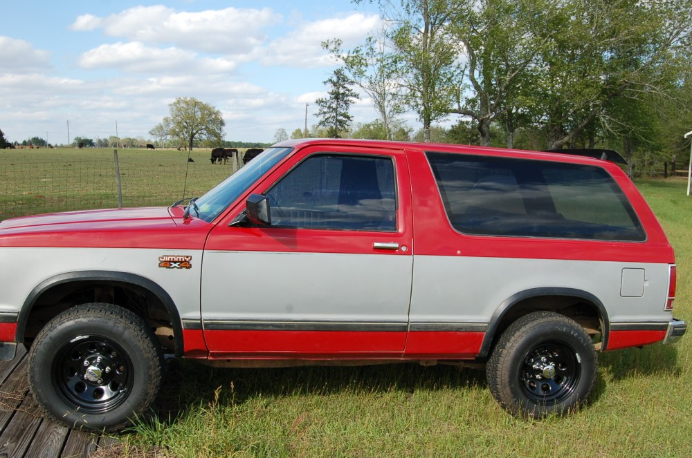 medium resolution of uga dawgs101 1987 gmc s15 jimmy