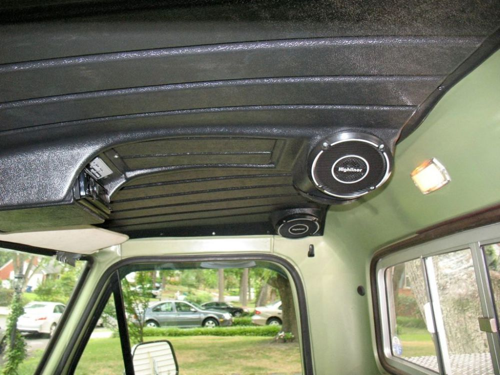 medium resolution of headliner with built in speakers the 1947 present chevrolet gmc truck message board network