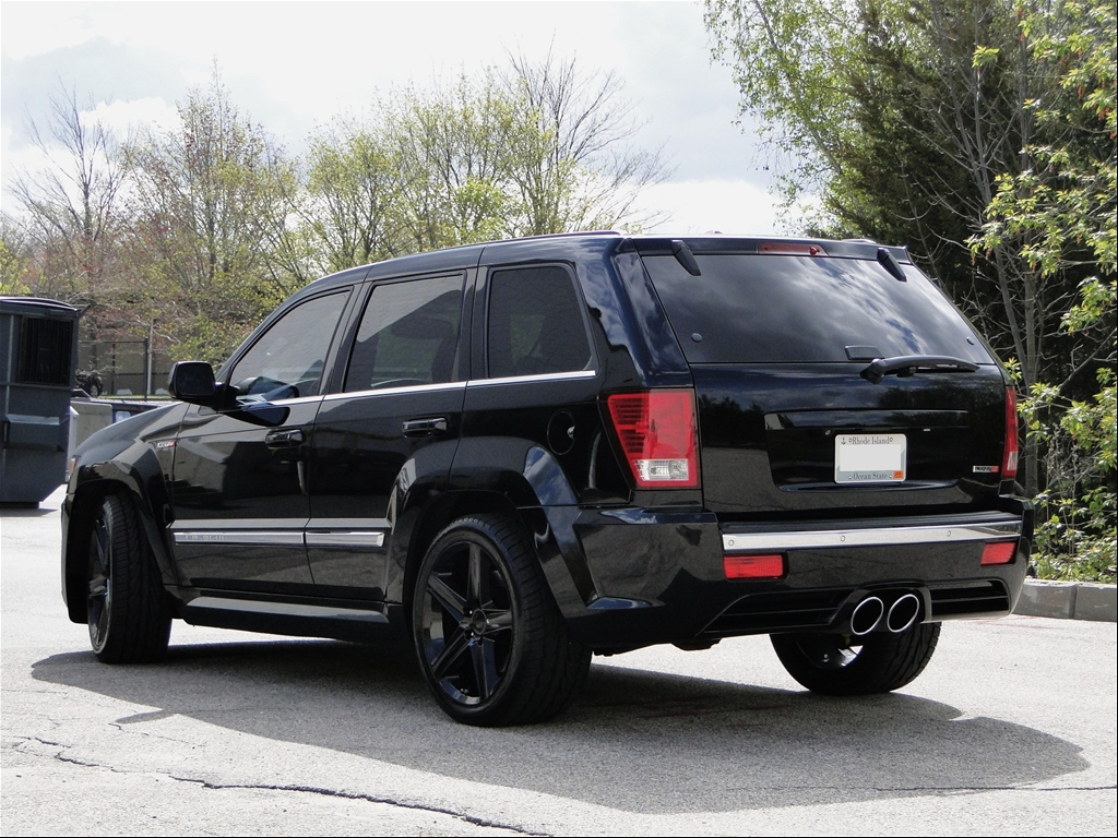 Jeep Grand Cherokee Srt8 Black