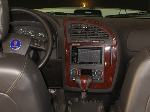 small resolution of 04 16 2009the stereo is done there is a new pioneer avic another timgrady 2007 saab 9 7x