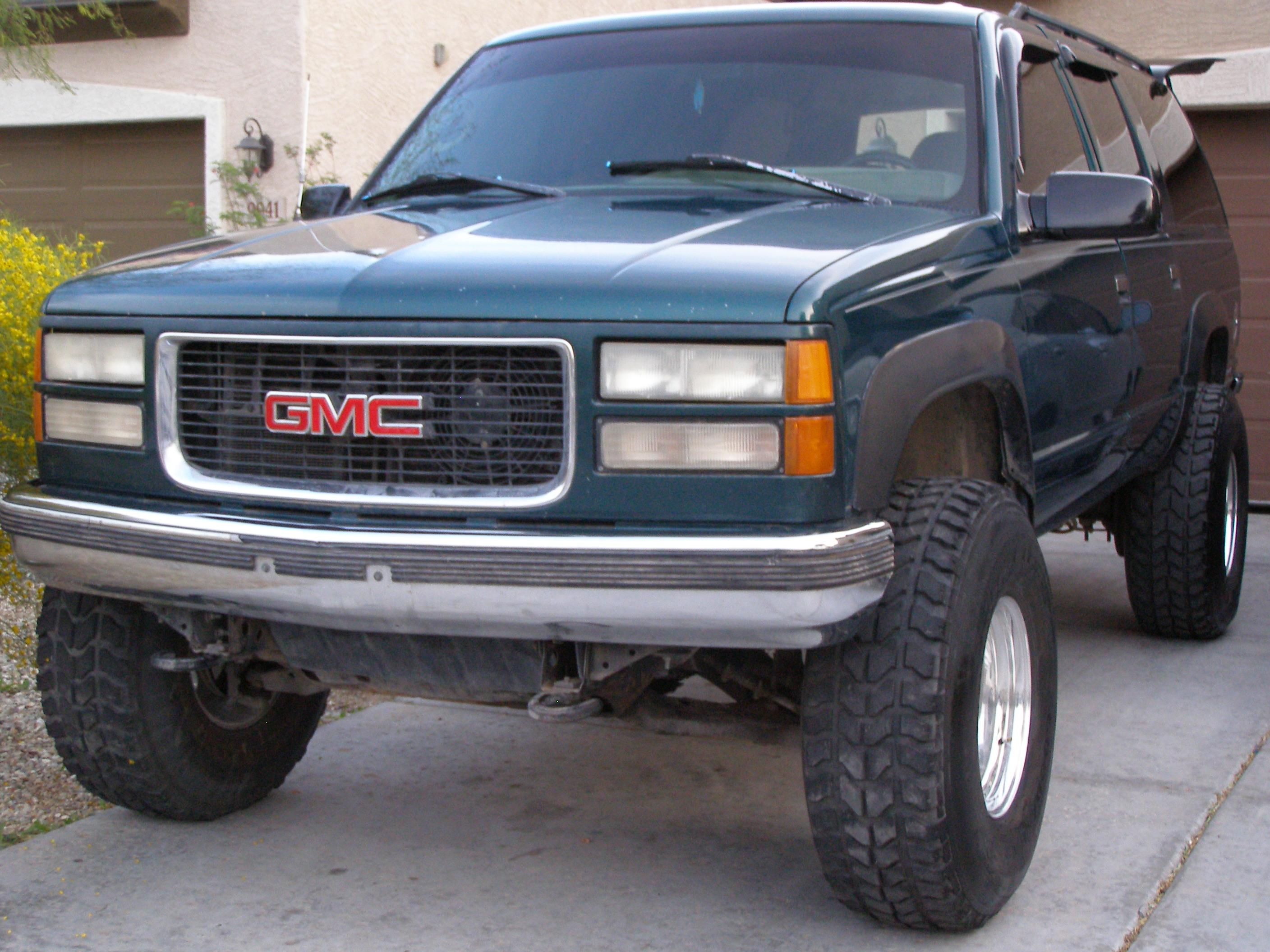 22Dirty 1996 GMC Suburban 1500 Specs, Photos, Modification