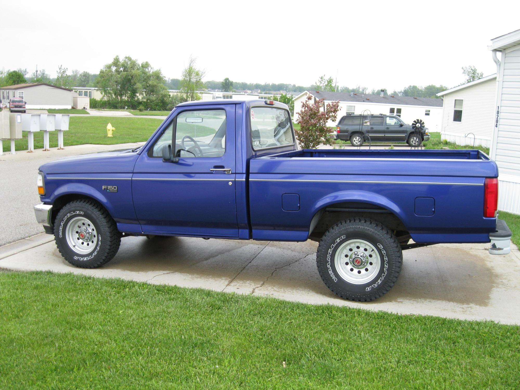 hight resolution of  indianablue 1995 ford f150 regular cab 38584960001 original