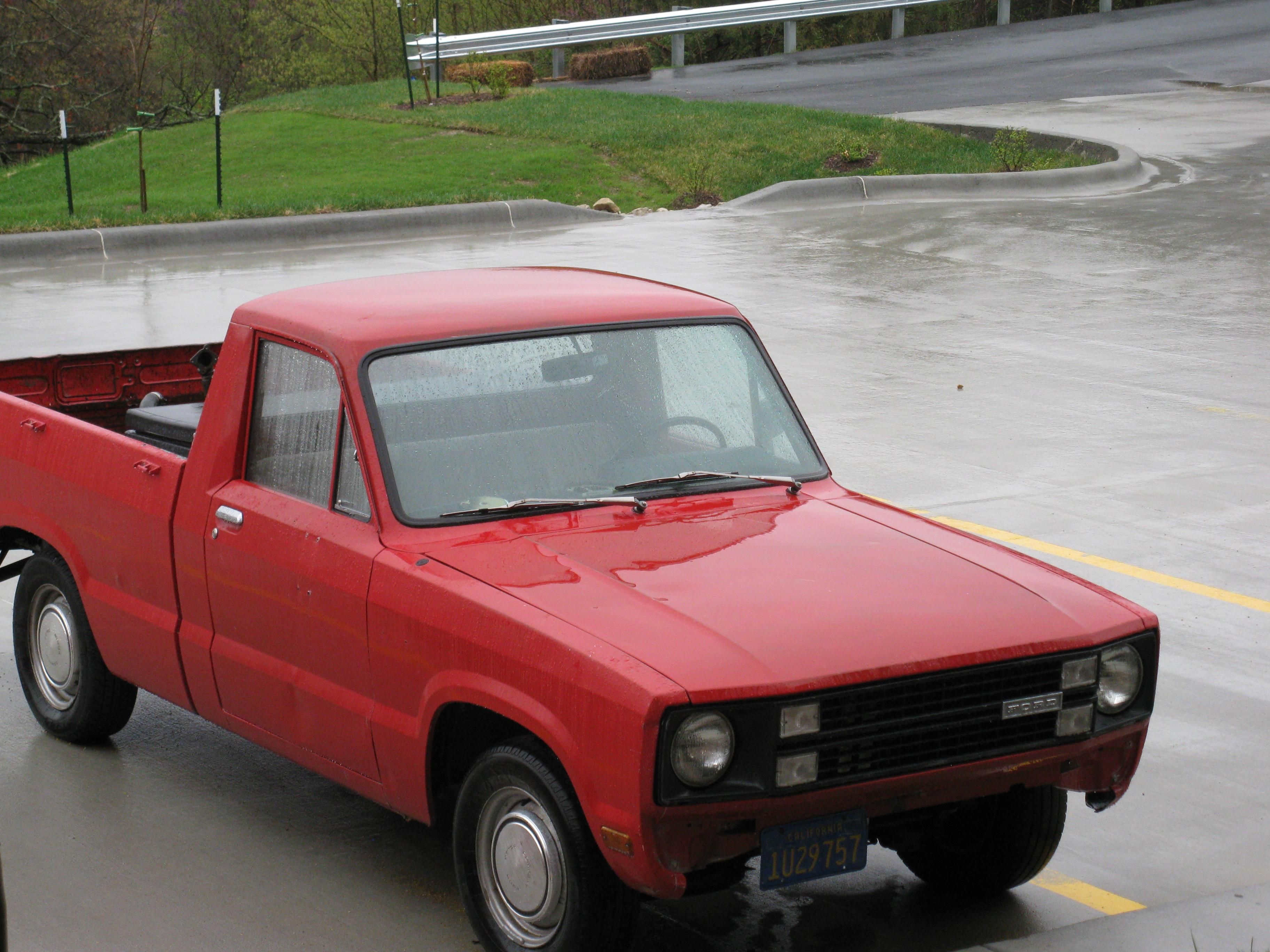 stook36 1976 Ford Courier Specs, Photos, Modification Info