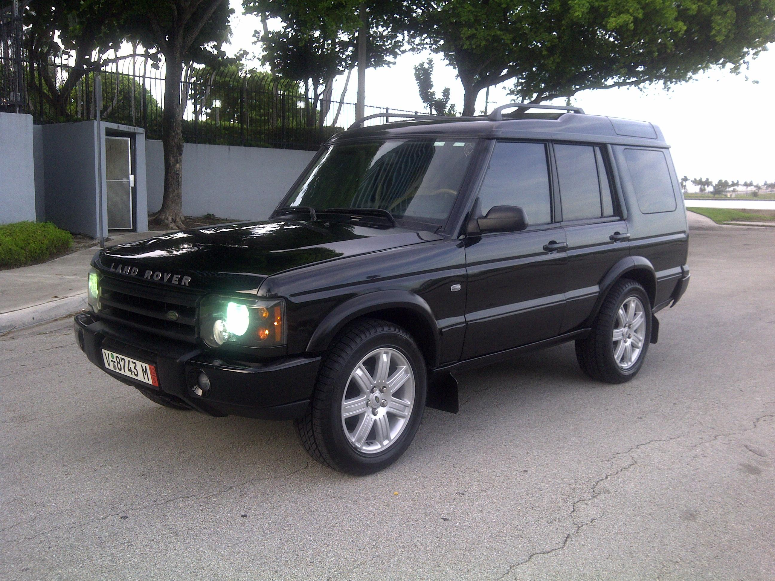 danni9mm 2003 Land Rover Discovery Series II Specs s