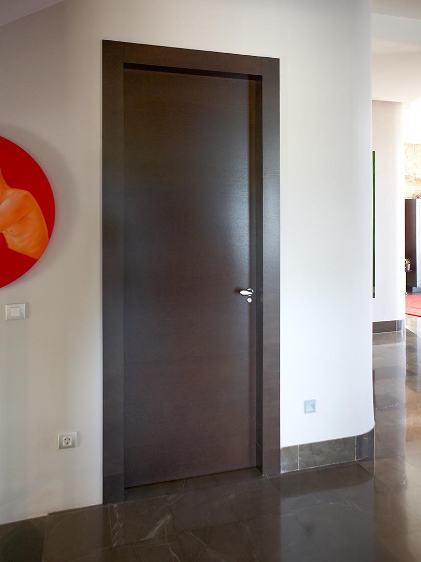 Puertas de interior en Casa seorial del siglo XIX en Riba