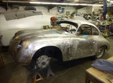 1958 Porsche 356A Super Coupe Bare Metal