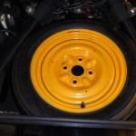 1981 Maserati Merak SS Black Spare Wheel
