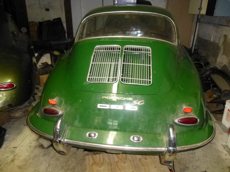 1964 Porsche 356SC Coupe Irish Green