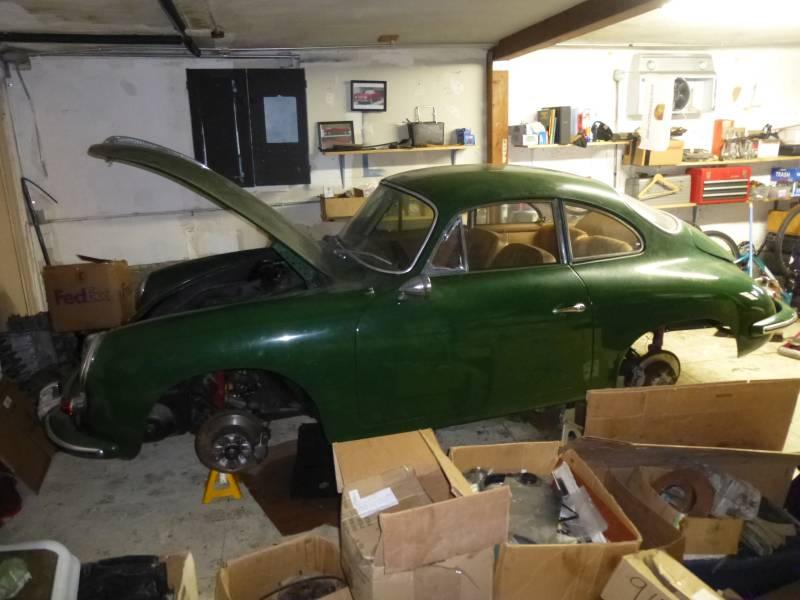 1964 Porsche 356SC Coupe Irish Green