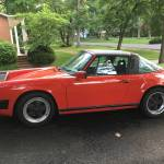 1989 porsche 911 g50 carrera targa red