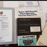 1976 porsche 930 owners manual