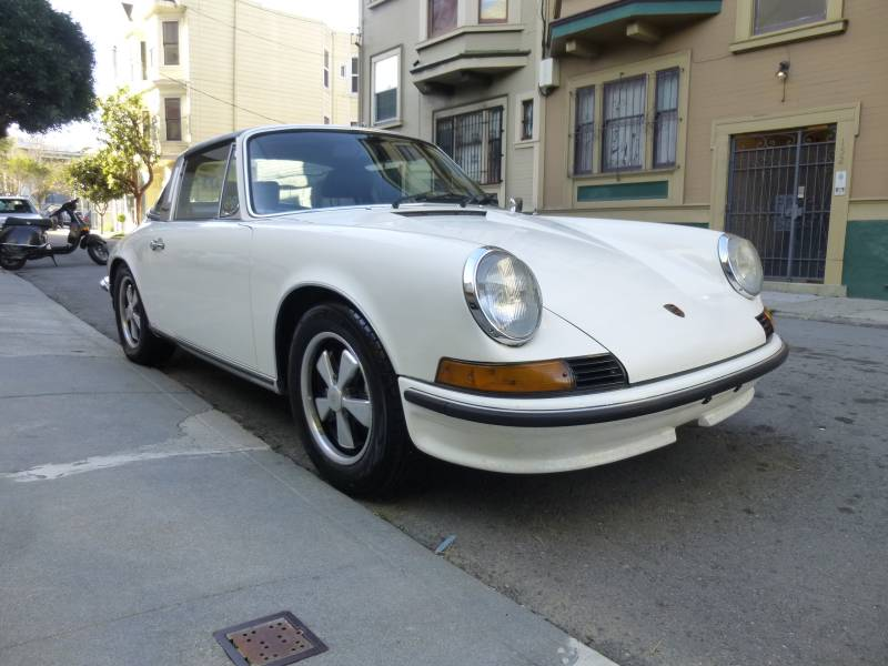 1973 porsche911t cis targa light ivory