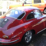 1964 Porsche 356C Coupe Ruby Red