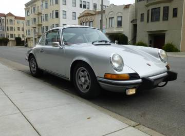 1973.5 Porsche 911T Sunroof Coupe Silver