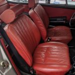 1973 Porsche 911T Sunroof Coupe Silver Metallic Red Leather