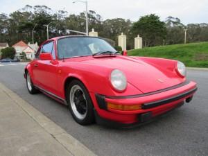 1980 Porsche 911SC Euro Coupe Guards Red