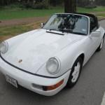 1991 Porsche 964 C2 Targa White