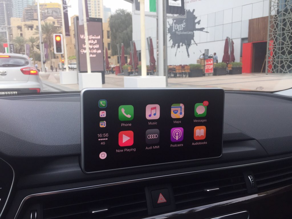CarPlay Installs: Factory Fitted in an Audi A5 – CarPlay Life