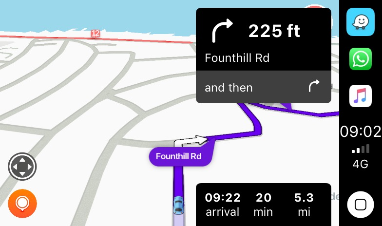 Waze Apple CarPlay Update Fixes Speed Limit Bug For Right Side Dock
