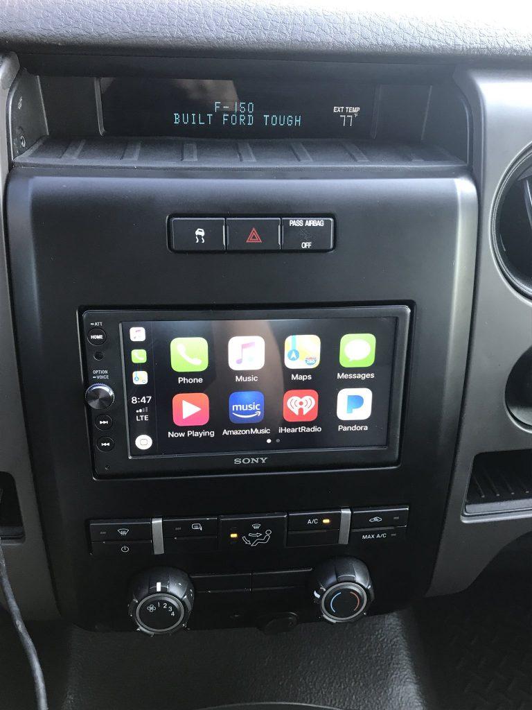 Carplay Installs Sony Xav Ax100 In A 2010 Ford F 150 Carplay Life