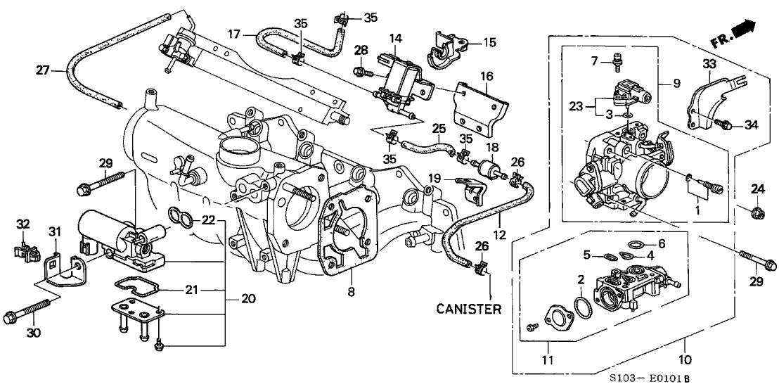 Wiring Diagram: 33 Honda Crv Parts Diagram