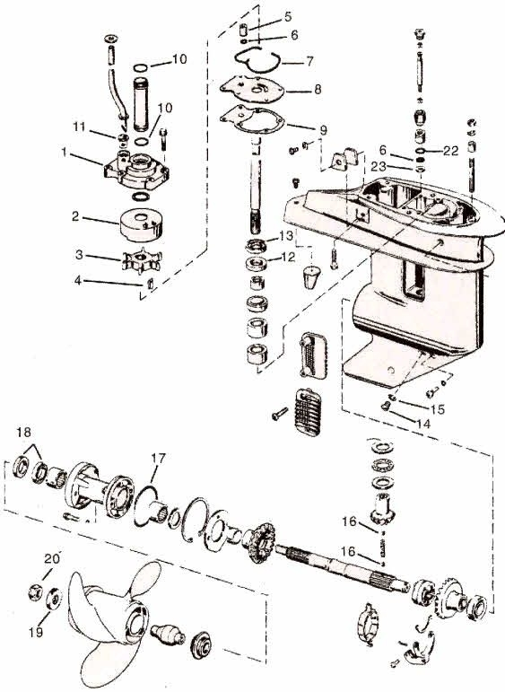 Yamaha Outboard Parts Diagram Labeled. Engine. Auto Parts