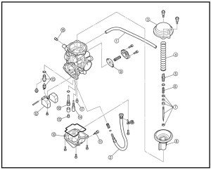 Yamaha Kodiak 400 Parts Diagram | Automotive Parts Diagram