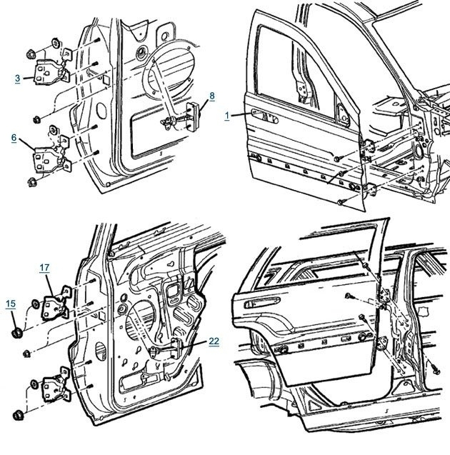 Jeep Xj Door Wiring Diagram