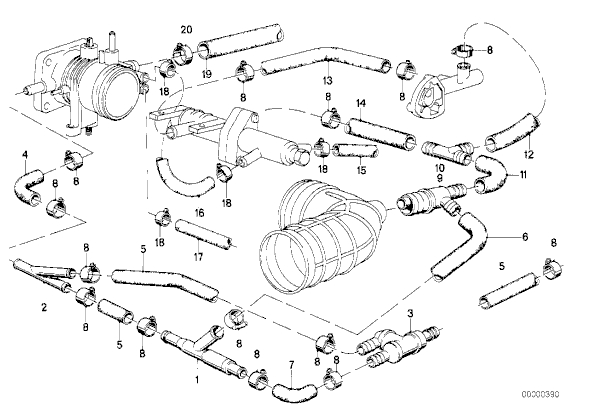 2000 bmw 323i parts diagram