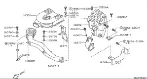 2000 Nissan Frontier Parts Diagram | Automotive Parts