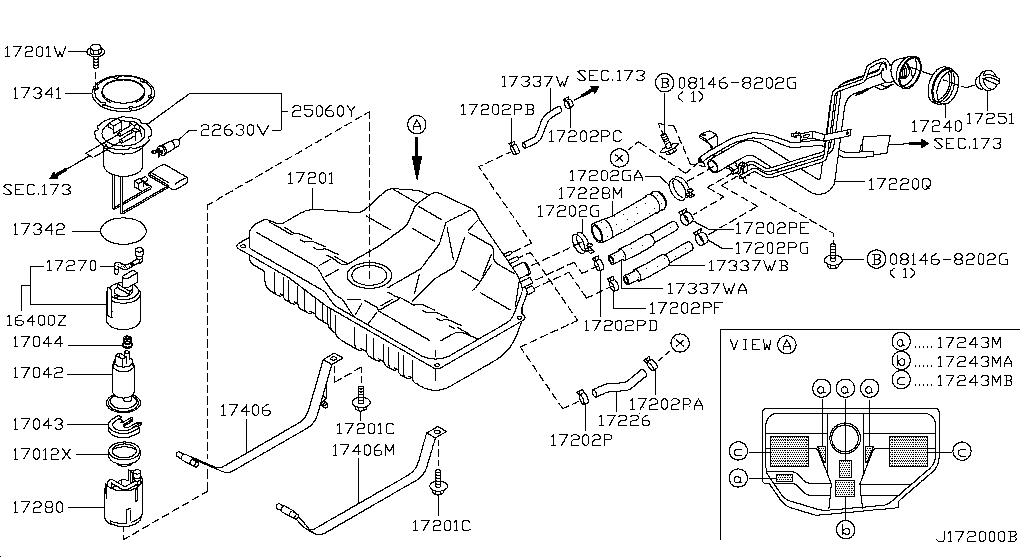 Wiring Diagram: 28 2000 Nissan Maxima Exhaust System Diagram