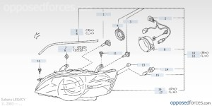 2001 Subaru Outback Parts Diagram | Automotive Parts