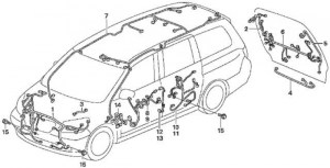 2005 Honda Odyssey Parts Diagram | Automotive Parts