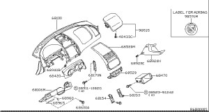 2005 Nissan Altima Parts Diagram | Automotive Parts