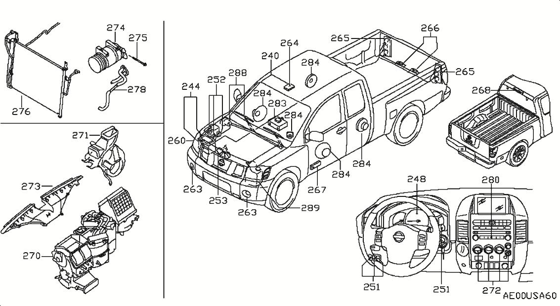 nissan titan engine diagram 2006
