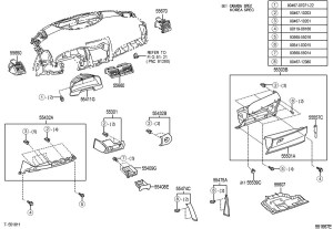 2011 Toyota Camry Parts Diagram | Automotive Parts Diagram