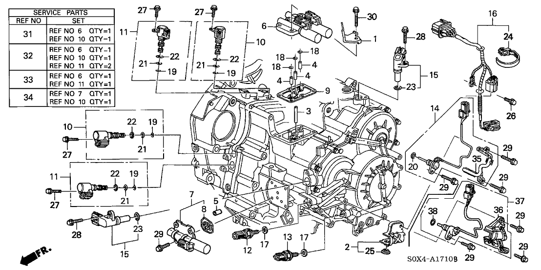 Honda Civic: 2002 honda civic engine parts diagram