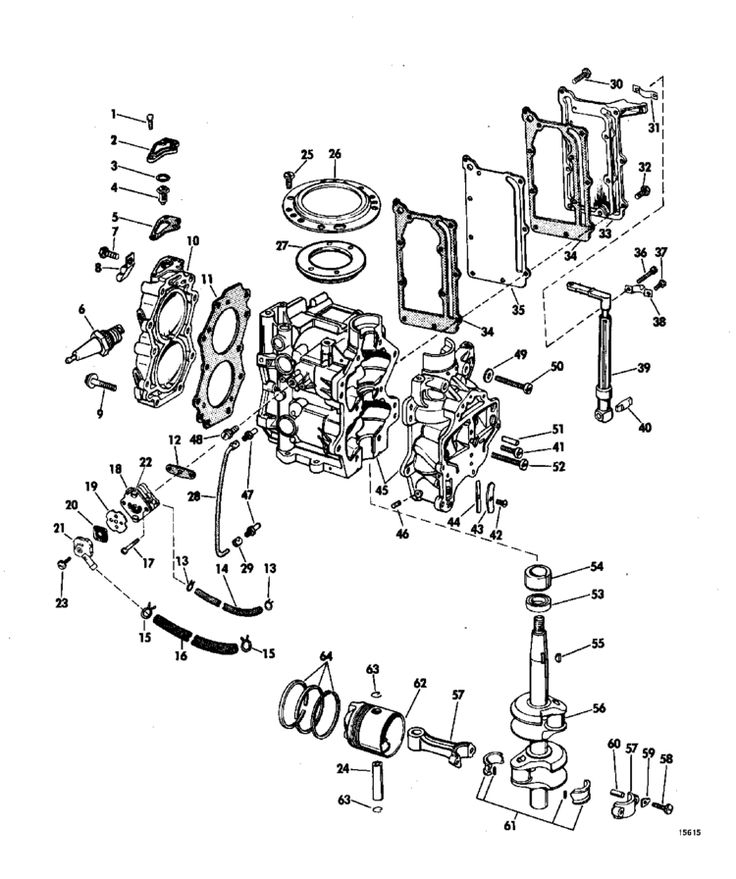exploded diagram engine 1975 x exploded view