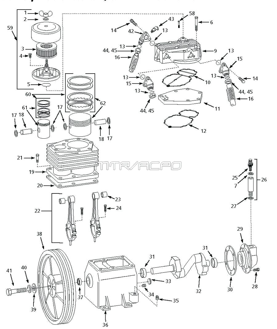 Ingersoll Rand Air Compressor Wiring Diagram Schematics