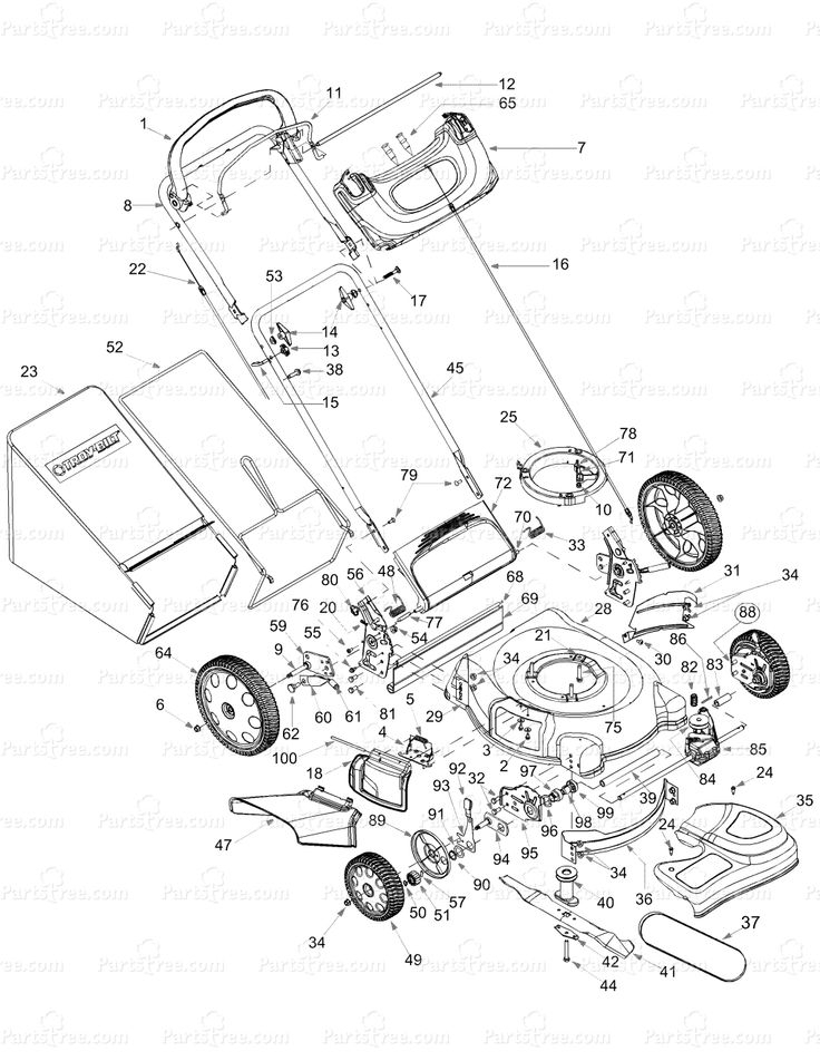 lawn mower parts diagram also with toro mower engine parts diagram