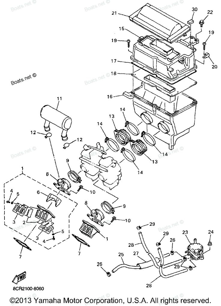 1998 Seadoo 951 Engine Diagram Sea-Doo GTX Impeller