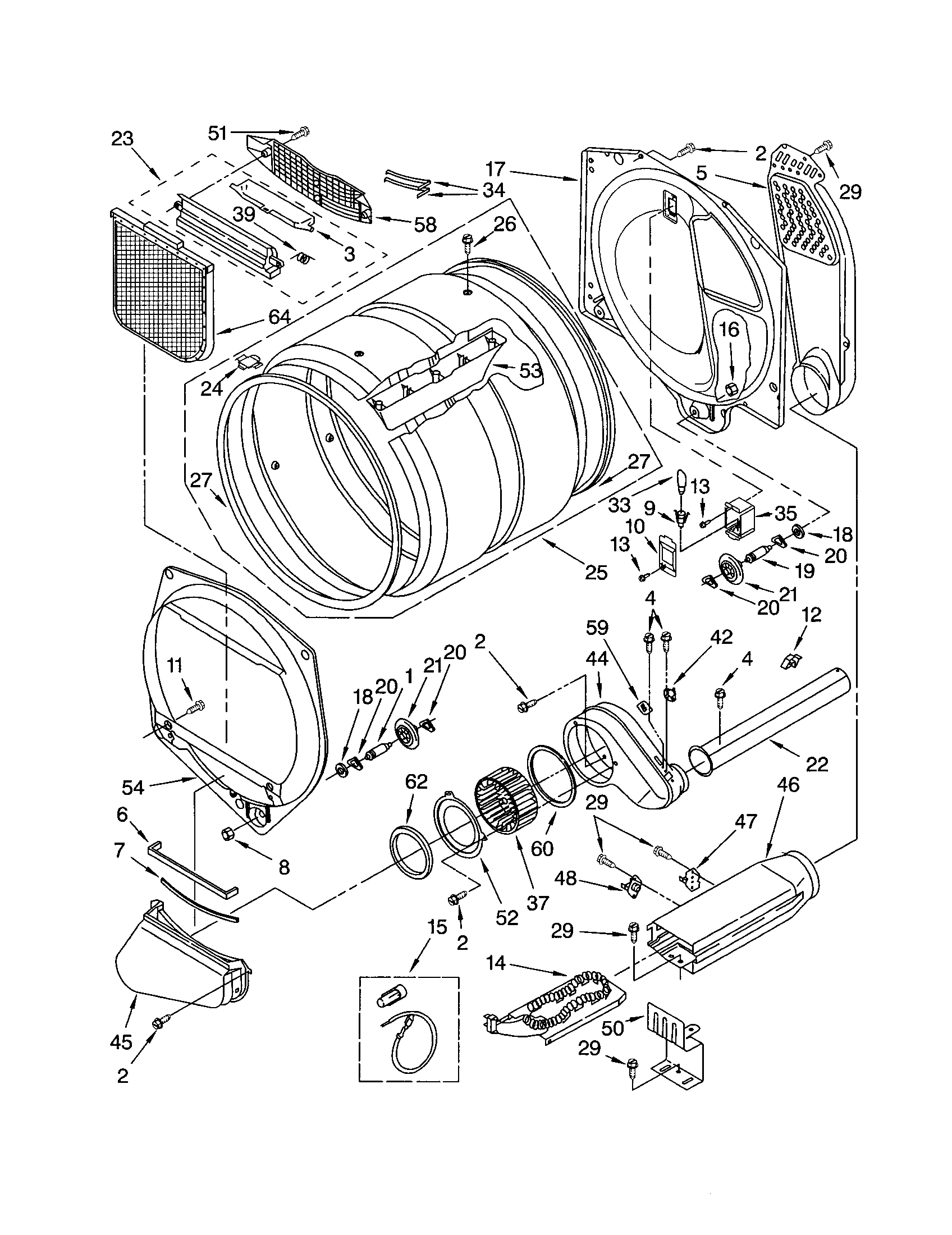 sears dryer wiring diagram