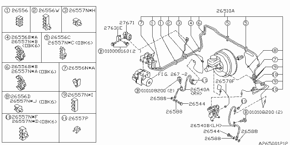 2001 Subaru Outback Parts Diagram : 33 Wiring Diagram