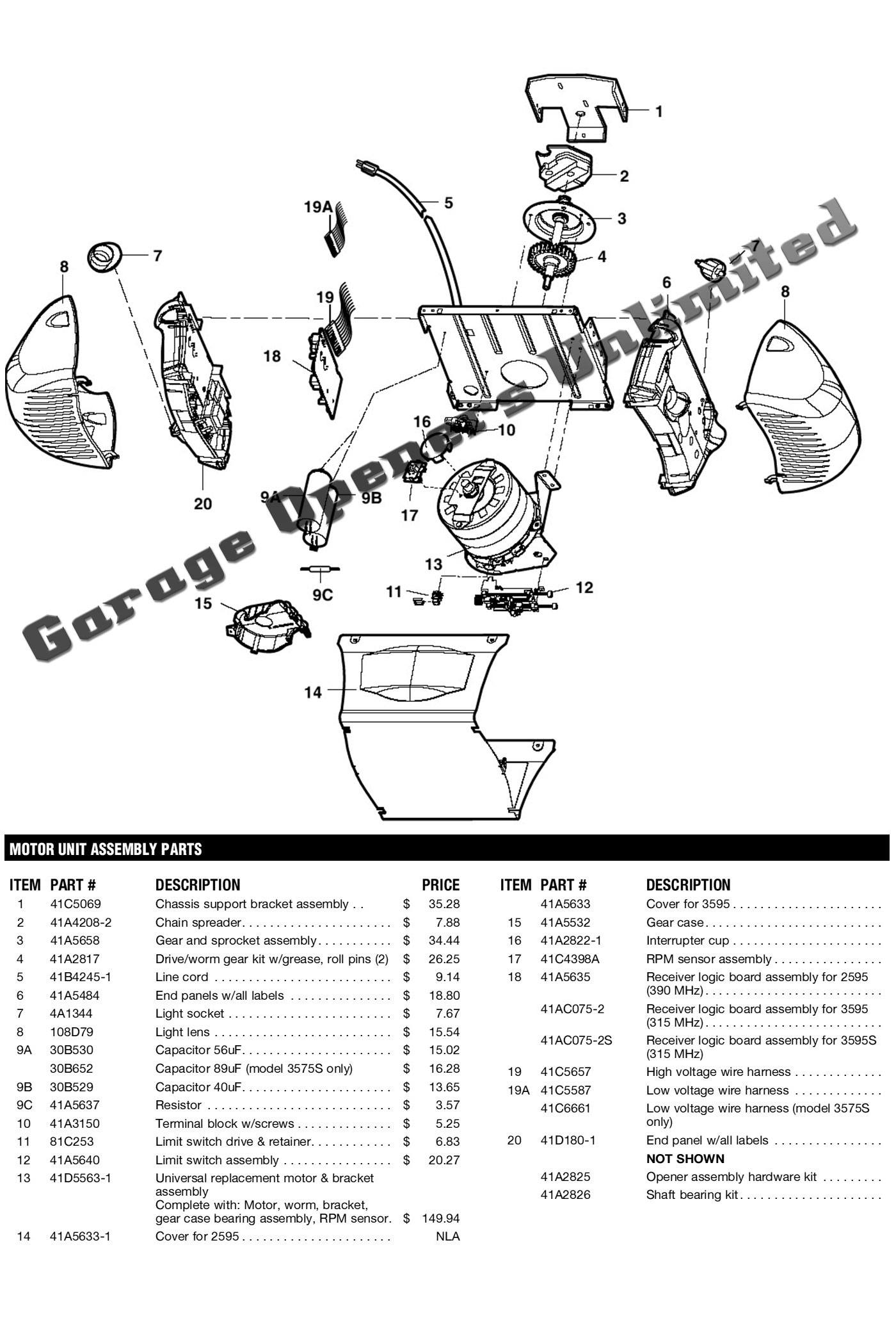 Legacy Garage Door Wiring Diagram