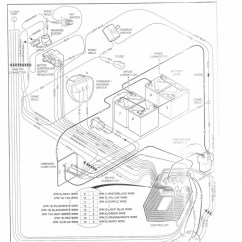 36 Volt Club Car Golf Cart Wiring Diagram 2004 Chevy Silverado Ez Go Parts Automotive
