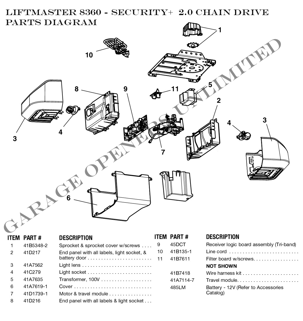 craftsman garage door opener wiring diagram sony cd player parts automotive