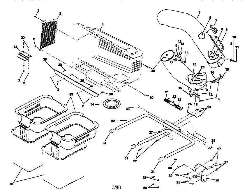 cub cadet 1045 wiring diagram plant cell for 6th graders craftsman ltx 1000 parts | automotive images