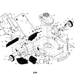 Lawn Mower Engine Parts Diagram Digestive System And Functions Briggs Stratton Automotive
